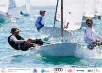 The final series arrives in the 2017 Optimist European Championship of Bourgas